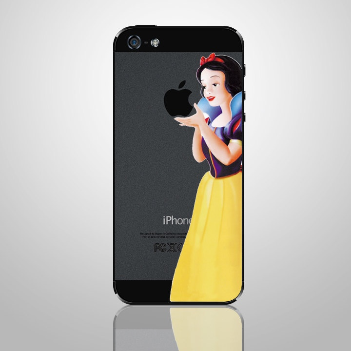 Snow White Iphone 5 Decal Iphone Sticker Iphone Back