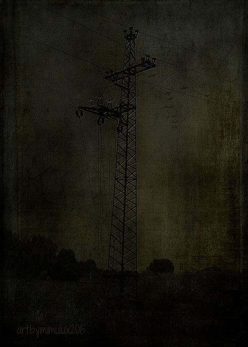 Technology Dark Surreal Art by mimulux patricia no