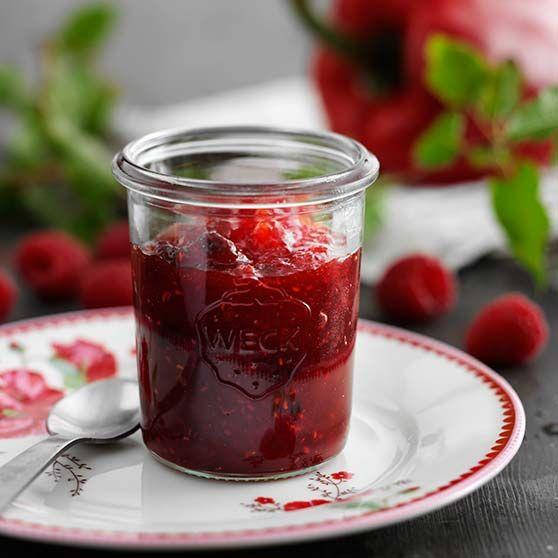 Peberfrugt-hindbærmarmelade