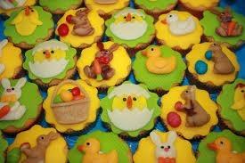 Schattige cupcakes pasen!
