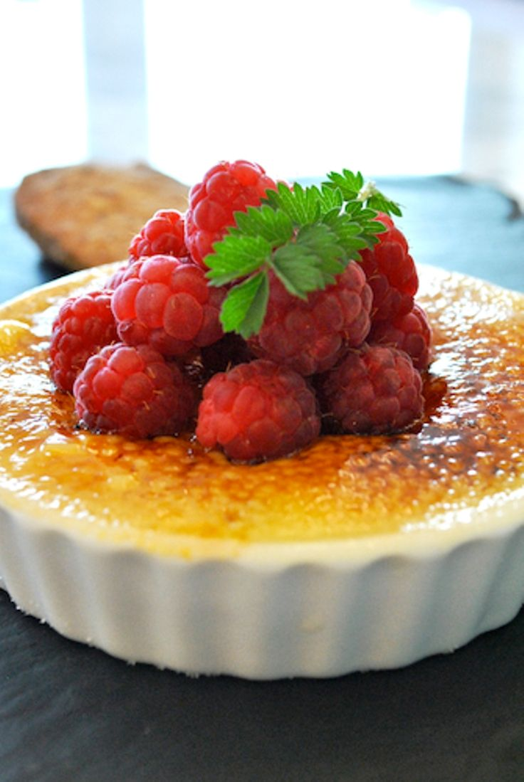 White Chocolate and Raspberry Creme Brulee Recipe - 10 Traditional English Recipes