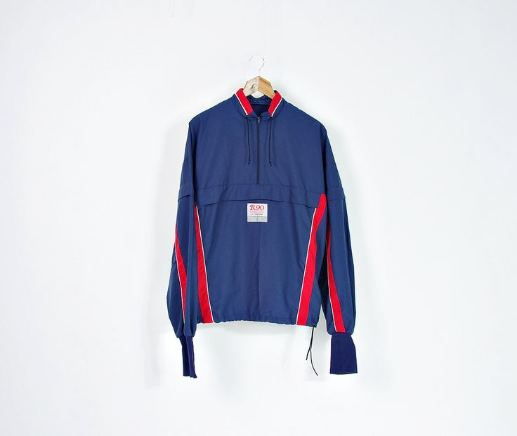 Runner 90 Dobsom Sweden Windbreaker Jacket with Hands Protect / Size M by Only1Copy on Etsy