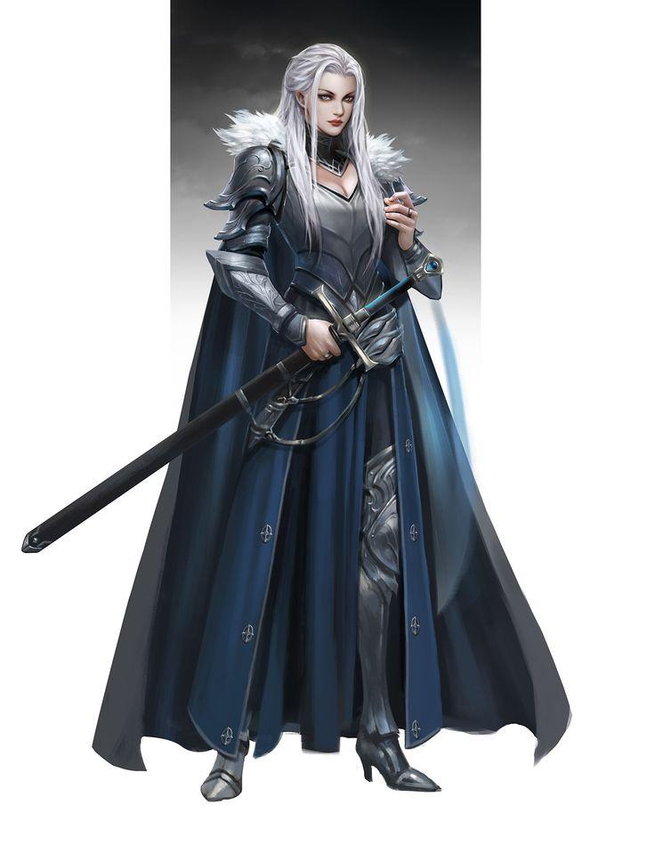 ArtStation - Lord of the North, Sun haiyang
