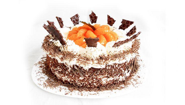 Mandarinkový dort