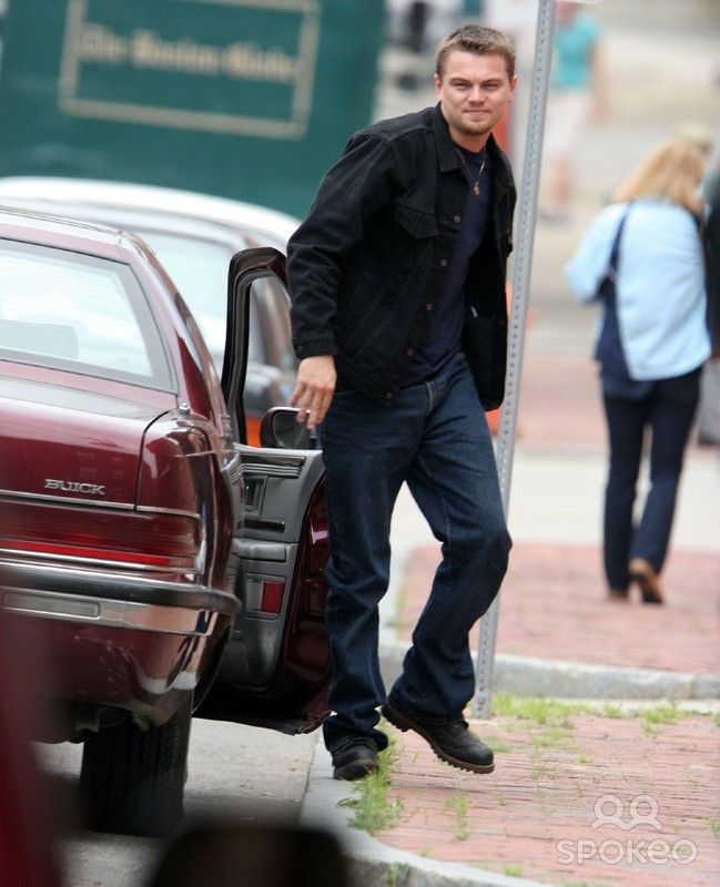 LEONARDO DICAPRIO on set of 'The Departed' filming in ChelseaBoston, Massachusetts - 29.06.05