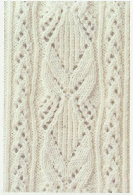 Lace Knitting Stitch #14 | Lace Knitting Stitches #knittingstitches