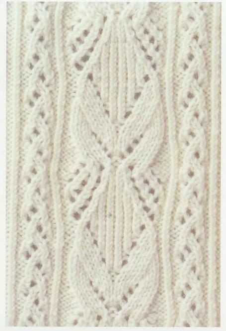 Lace Knitting Stitch #14 | Lace Knitting Stitches