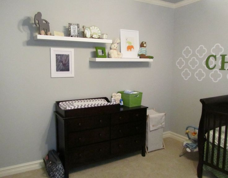 Christophers Nursery Ikea Lack Shelves And Nursery - Wall bookshelves for nursery