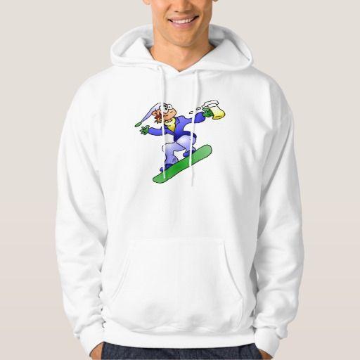 Snowboarding with a beer hoodie. #Zazzle #Hoodie #snowboard #snowboarding #snowboarder #Cardvibes #Tekenaartje