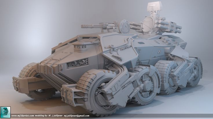 Modeling: Super Apc by Mohammad javad jalilpour | Creatures | 3D | CGSociety