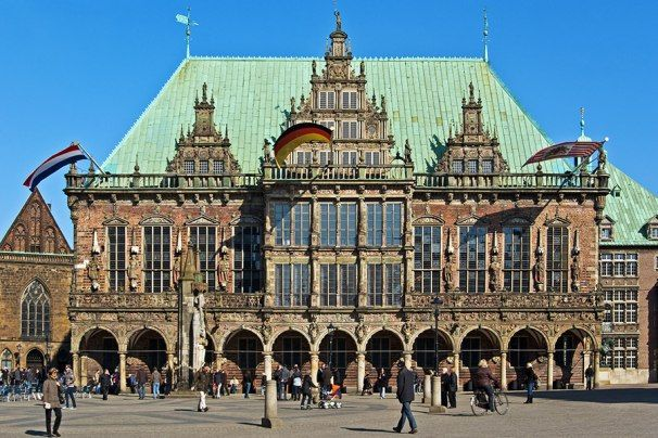 Rathaus außen