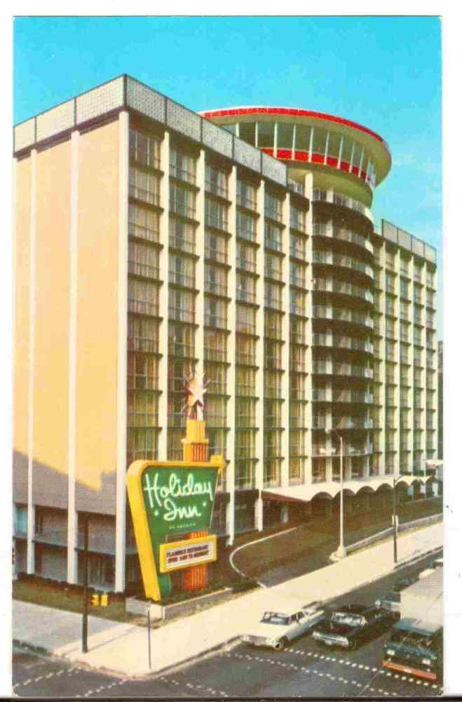 Undated Unused Postcard Holiday Inn Downtown Baltimore Maryland MD