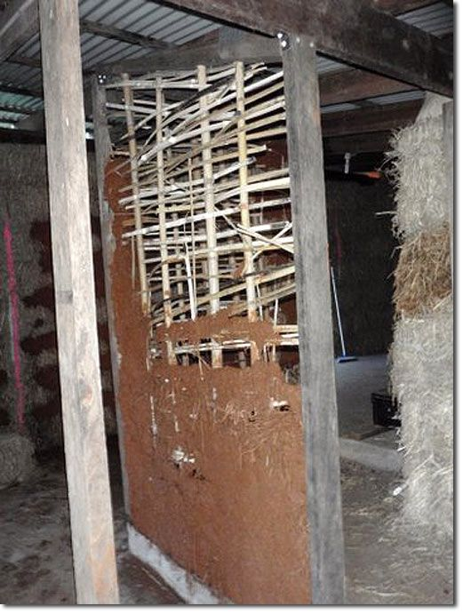 Bamboo Wattle and Daub Structures