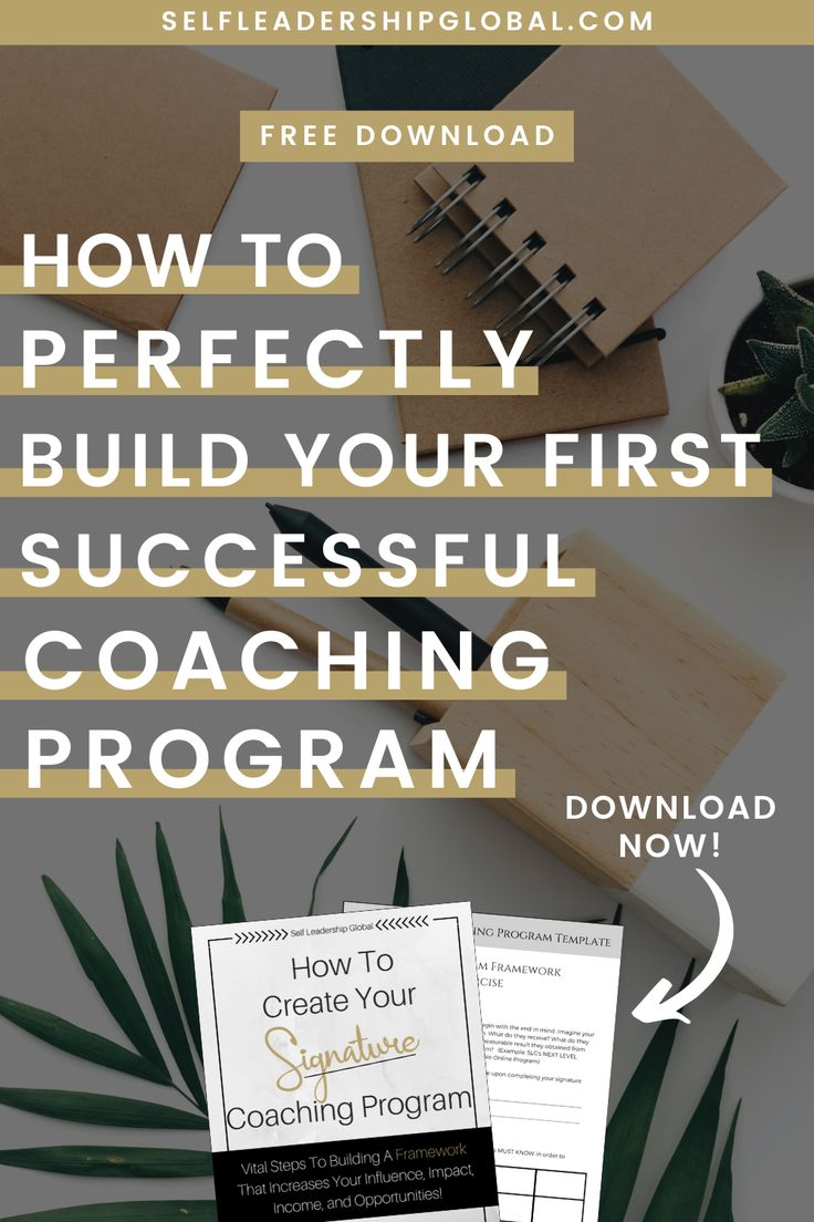 How to Start Building Your First Successful Coaching ...