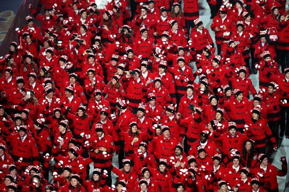 Team Canada Opening Ceremonies 2