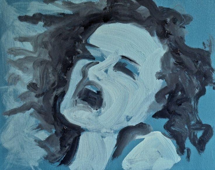 NOTHING IS LEFT TO DO, JUST SCREAM, MUNCH. Minimal art by Jacek Sikora