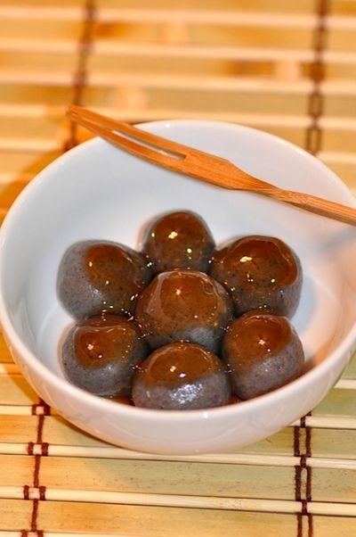 「みたらし風黒ごま餅」のレシピ by ロッキンさん | 料理レシピブログサイト タベラッテ