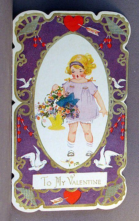 valentine cards 1920