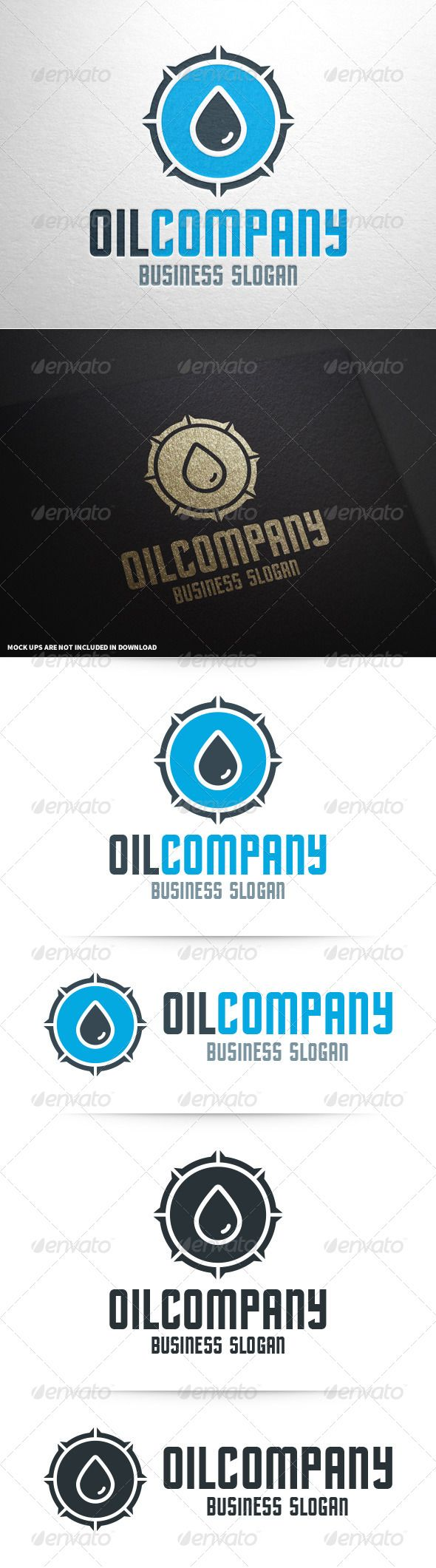 Oil Company - Logo Design Template Vector #logotype Download it here: http://graphicriver.net/item/oil-company-logo-template/8604032?s_rank=1661?ref=nexion