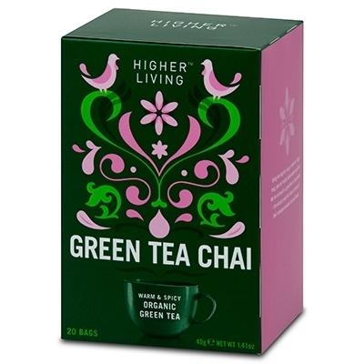 Higher Living - Green Tea Chai