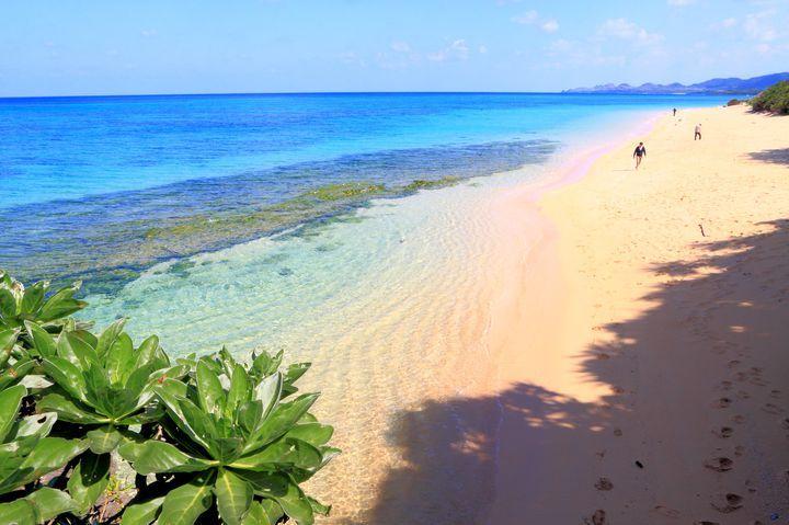 石垣島・米原ビーチ Yonehara-Beach, Ishigaki-Island, Okinawa, Japan