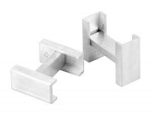 Flat Pack cufflinks in sterling silver - $495