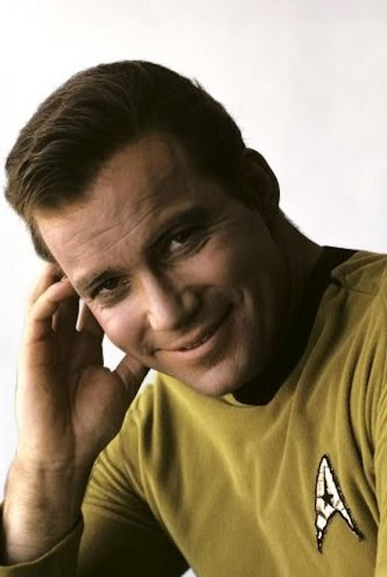 Captain James T Kirk ~ William Shatner  I so loved him when I was a little girl!