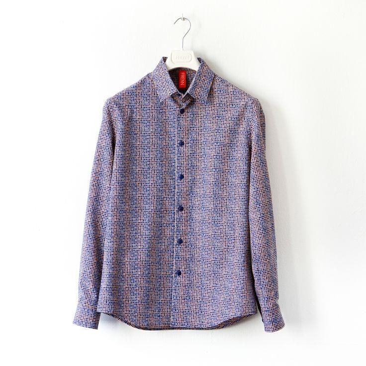 FRENN SS14 - Aapo plaid-print shirt www.frenncompany.com