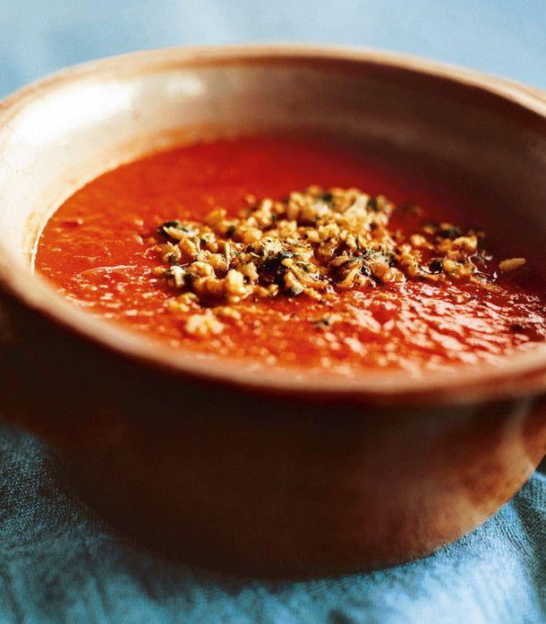 Unser beliebtes Rezept für Tomatensuppe mit Cashewkernen und Kokosnuss-Sambal und mehr als 55.000 weitere kostenlose Rezepte auf LECKER.de.