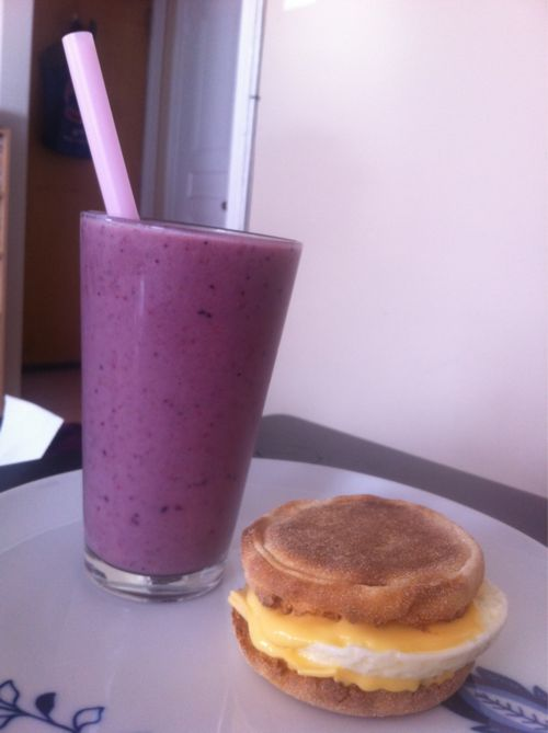 Delicious Weight Watchers Breakfast Smoothie!  Only 1PP! #weightwatchers