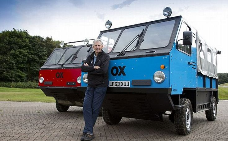 OX, truk bongkar pasang hasil desain Gordon Murray (Global Vehicle Trust)