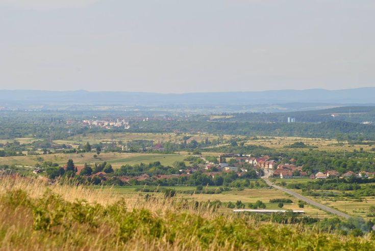 Panoramă spre Vașcău și Ștei | Bihor in imagini