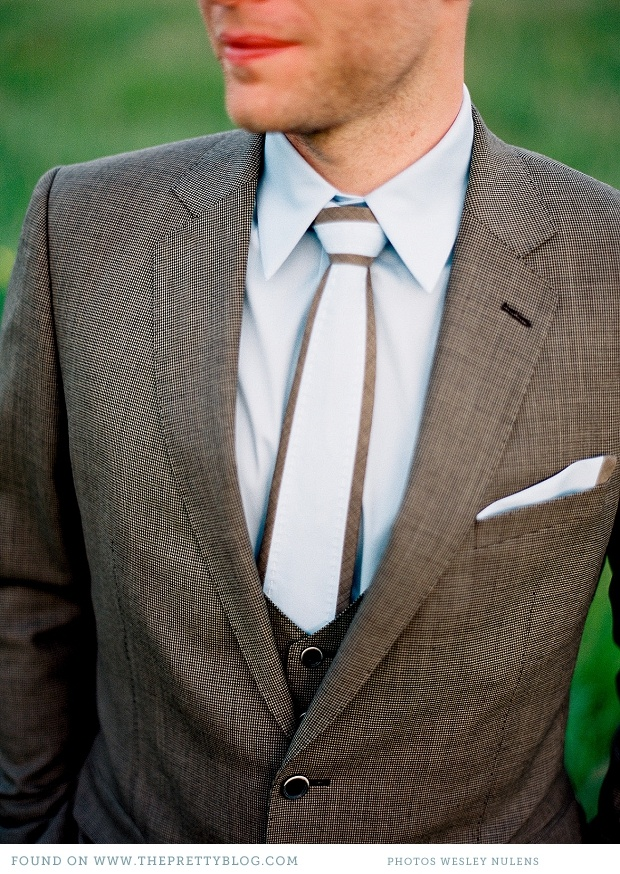 Suit & Tie | Wesley Nulens Photography