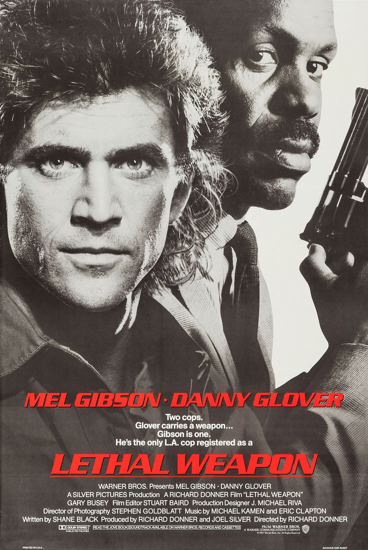 Arma Letal (Lethal Weapon), de Richard Donner, 1987