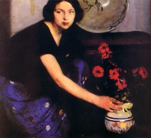 Amedeo Bocchi. Parma 1883-1976.La familia es la estrella indiscutible de sus pinturas: padres, esposa e hija