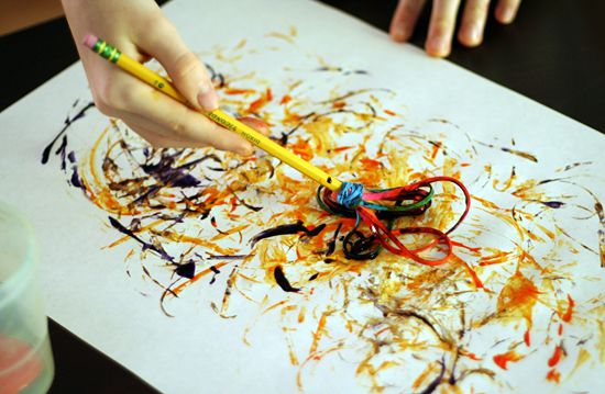 7 Unique Painting Tools for Kids - Make and Takes