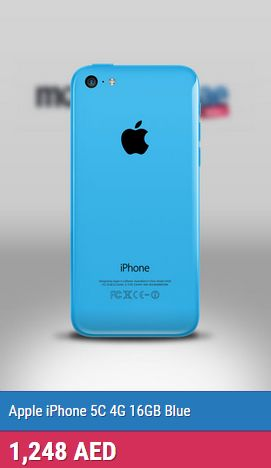 iPhone 5C comes in 5 colors that attracts anyone, colors makes statement and reveals your cool personalities. And It quickly goes on colorful that was impossible to ignore...  http://mobileshop.ae/apple-iphone-5c-16gb-blue