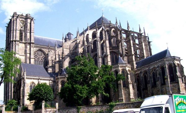 Le Mans France, where I was  baptized and my mother made her first communion