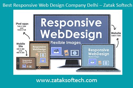 Selecting the best firm for the web designing is very important and difficult task. When you are looking for the best responsive web design company Delhi then, Zatak Softech is the right choice. They will make certain that your professional planning is done through the responsive web design in an accurate manner with latest technologies. They design the web page in an innovative manner as they plan every stage for your expansion.