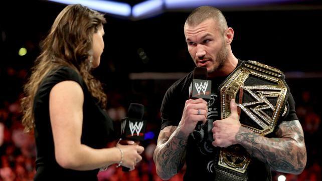 Randy Orton And Stephanie Mcmahon Stephanie McMahon, Bat...