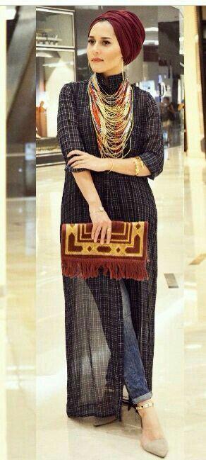 hijab glamour fashion image