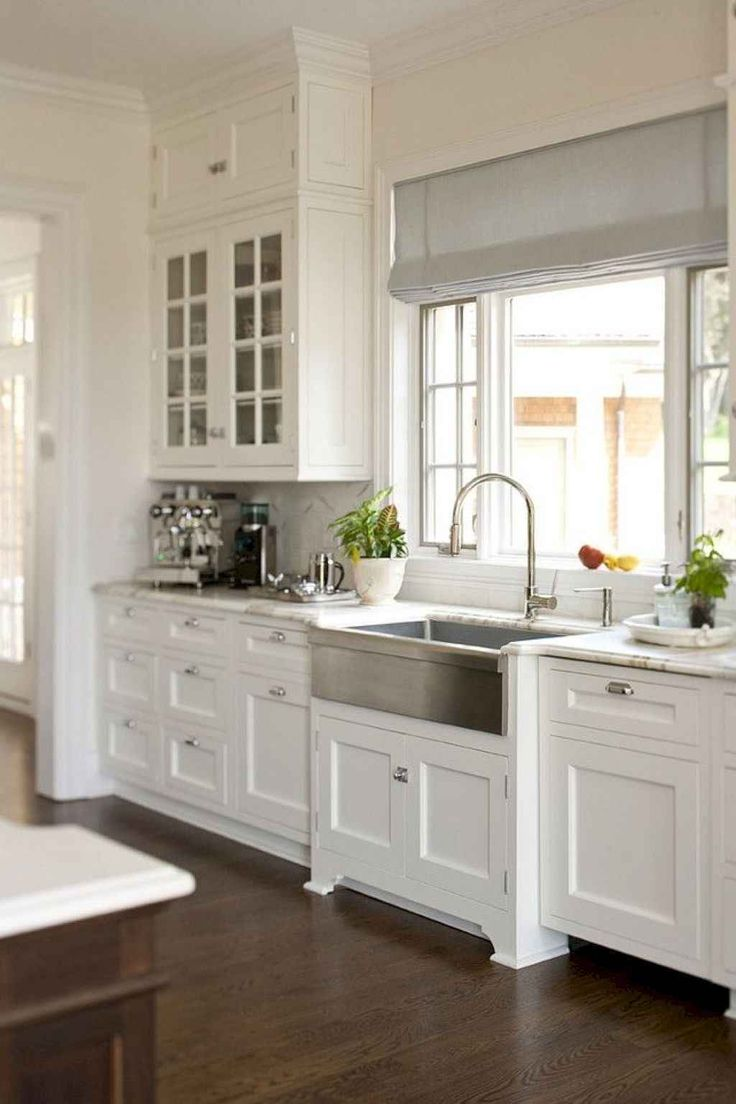 Timeless Farmhouse Kitchen Cabinets Design Ideas 46 in ...