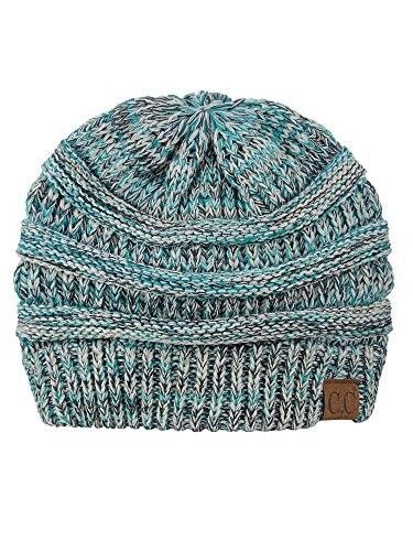 5bf478314bf Trendy Warm Chunky Soft Stretch Cable Knit Beanie Skully  fashion  clothing   shoes
