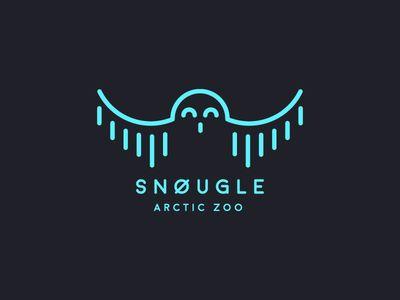 Snøugle Logo Design
