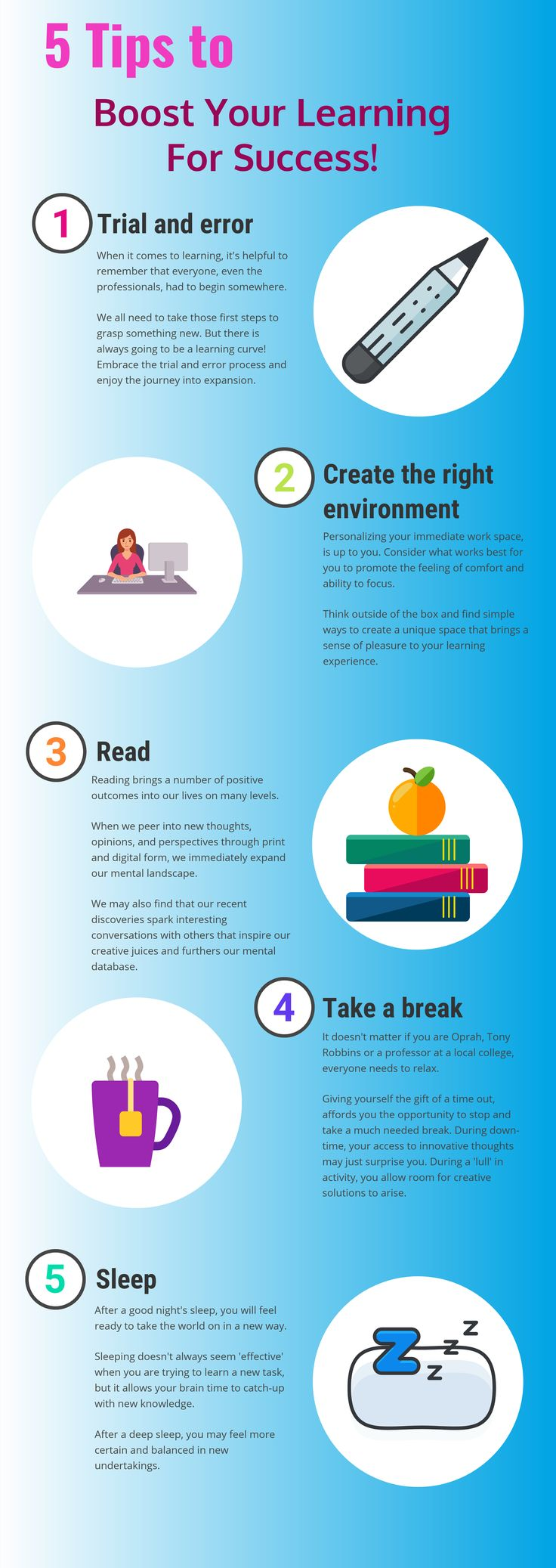 Boost your success by becoming a lifelong learner... | Amazing Leaders | Personal development, School hacks, Mindfulness