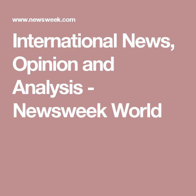 International News, Opinion and Analysis - Newsweek World