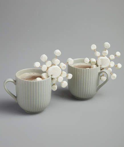 Marshmallow Snowflakes |