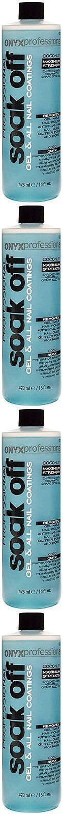 Nail Polish Remover: Onyx Professional Soak Off Shellac And Gel Nail Polish Artificial Nails, 16 Oz -> BUY IT NOW ONLY: $62.92 on eBay!