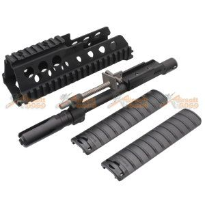 Classic Army G36C Rail System with Barrel Set