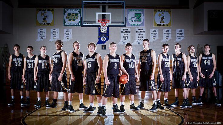 2014-2015 Noblesville Boy's Basketball Team Photo